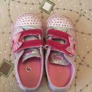Sketchers toddler light up shoes